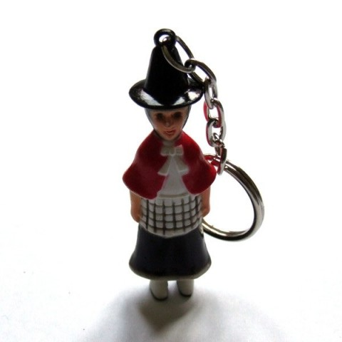 Welsh Dress Keyring