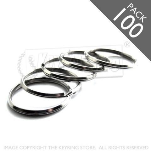 28mm Bevelled Split Rings PACK 100