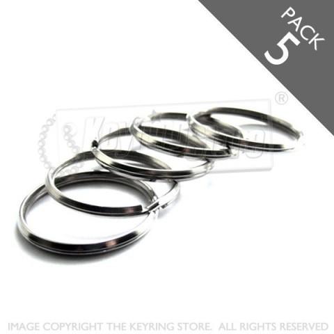 25mm Bevelled Split Rings PACK 5