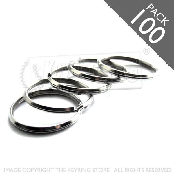 25mm Bevelled Split Rings PACK 100