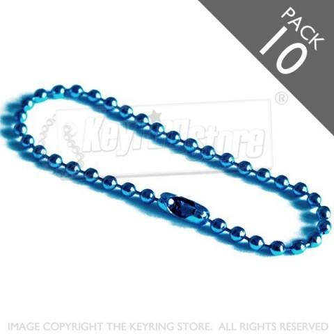 Ball Chain (blue) - Pack 10