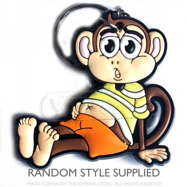 Cheeky Monkey Keyrings