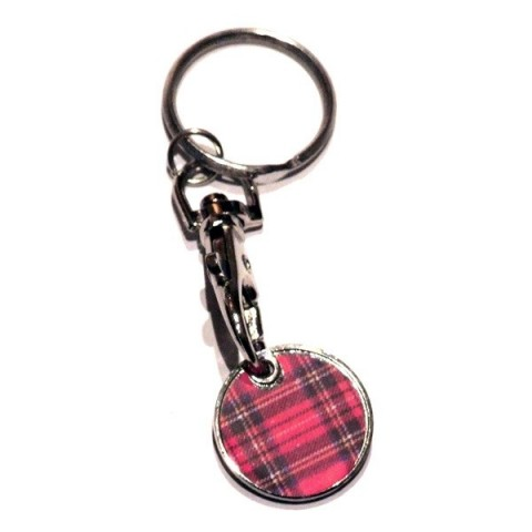 Trolley Coin Keyring - Scottish Style