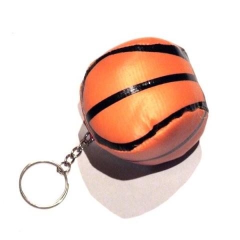 Stress Basket Ball Keyring