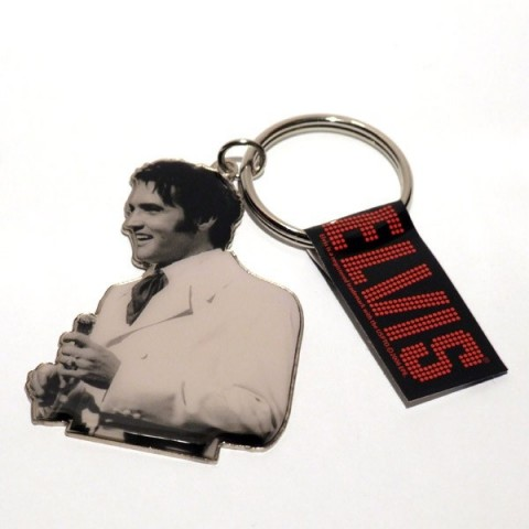 Elvis Keyring - officially licensed - The Keyring Store