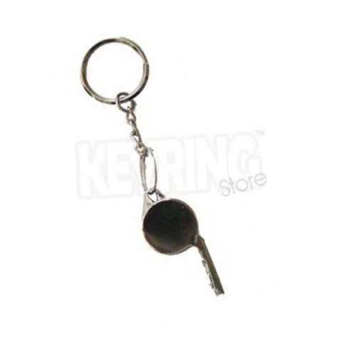 Whistle keyring - Metal