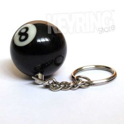 Snooker / Pool ball keyring