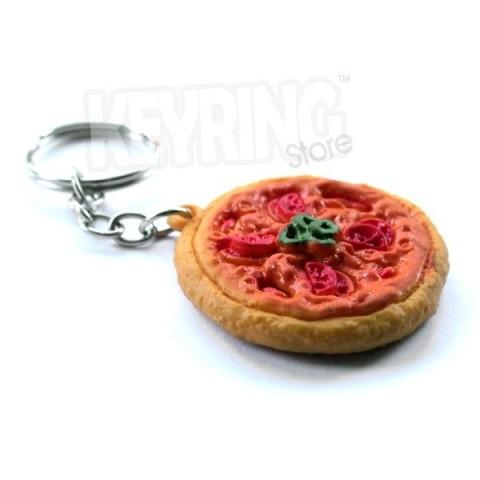Pizza Keyring