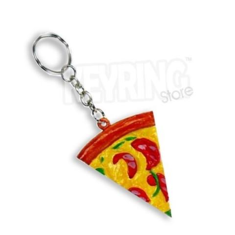 Pizza Slice Keyring