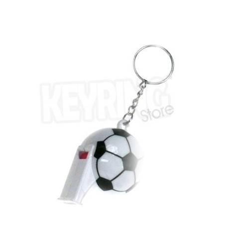 Football Giant Whistle keyring