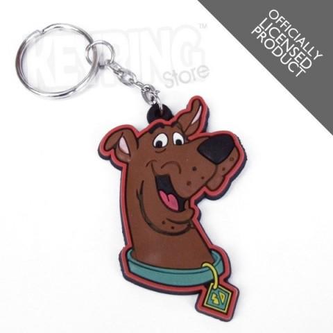 Scooby Doo Dog head Keyring