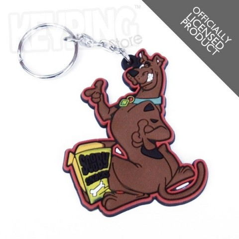 Scooby Doo Snacks Keyring