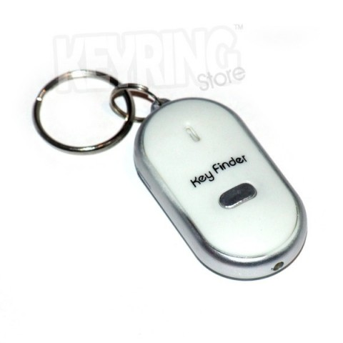 Key Finder Whistle Keyring with torch