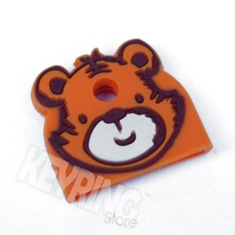 Tiger Animal Key Cap -  to identify your keys