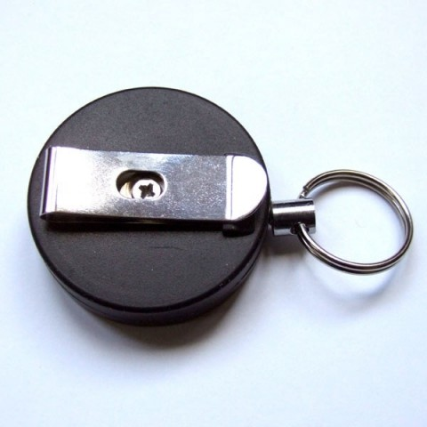 Retractable Belt Clip Keyring