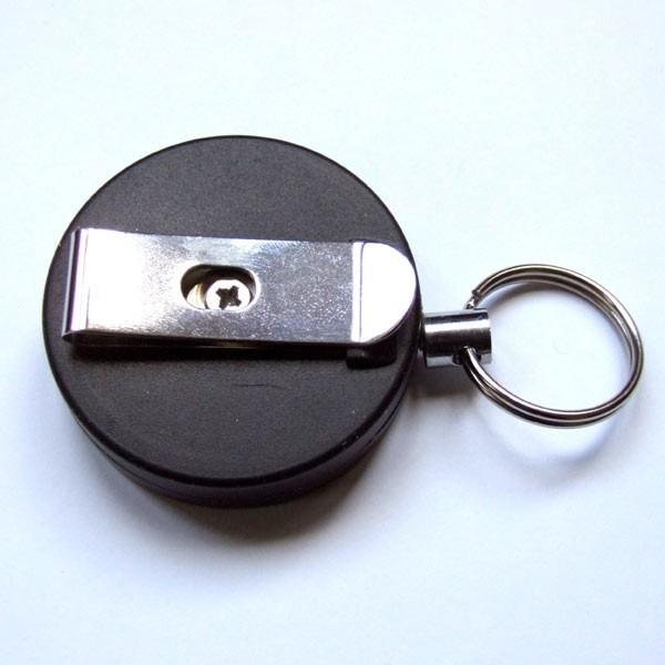 Retractable Belt Clip Keyring