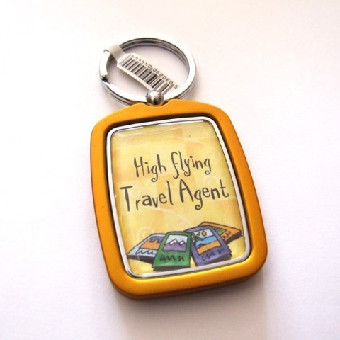 Travel Agent Keyring