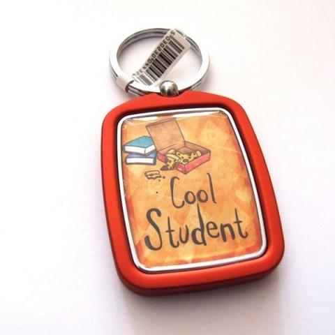 Cool Student Keyring