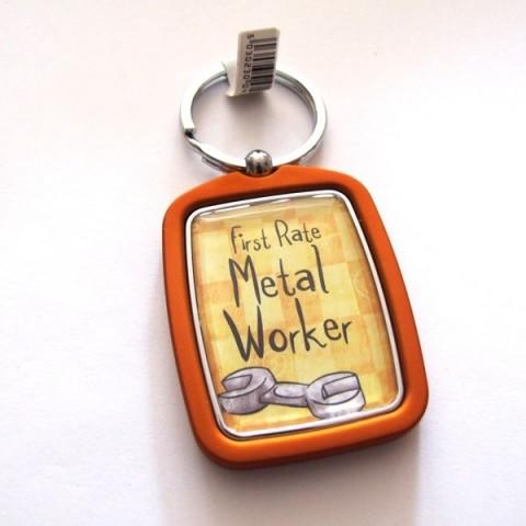 Metal Worker Keyring