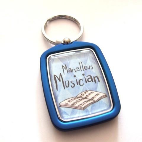 Musician Keyring