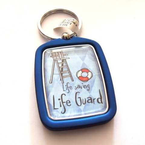 Life Gueard Keyring