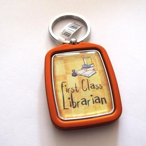 Librarian Keyring