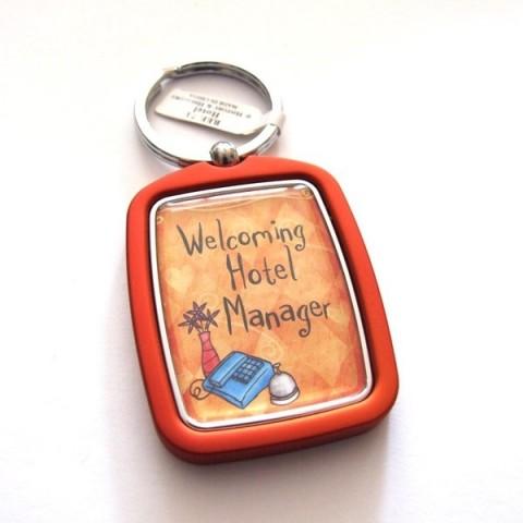 Hotel Manager Keyring