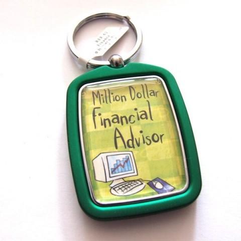 Financial Advisor Keyring