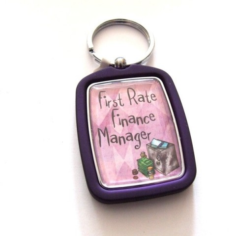 Finance Manager Keyring