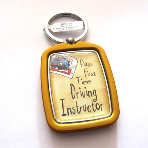 Driving Instructor Keyring