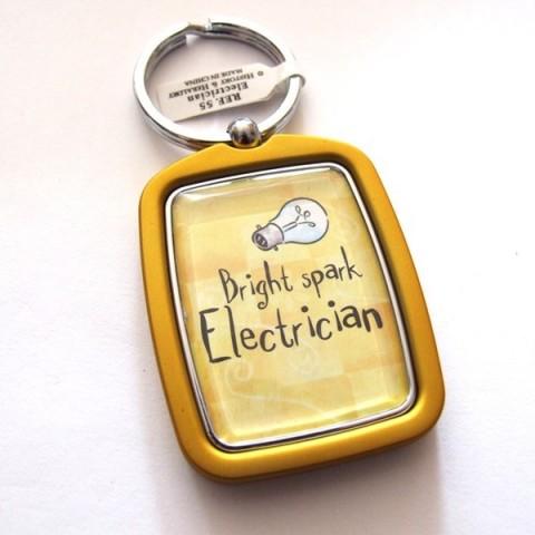 Electrician Keyring