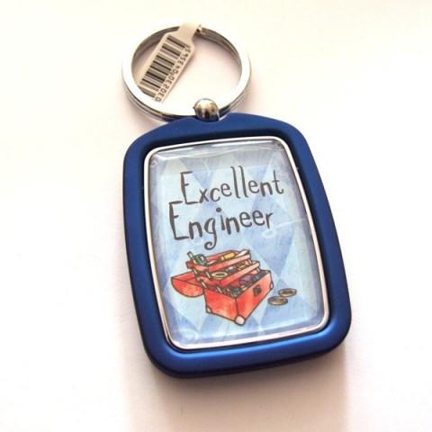 Engineer Keyring