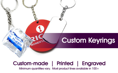 Custom Made Keyrings